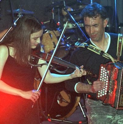 Agnes Grasberger and Hubert von Goisern