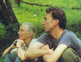 Jane Goodall and HvG