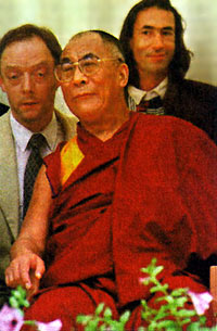 Dalai Lama and Hubert in Ischl