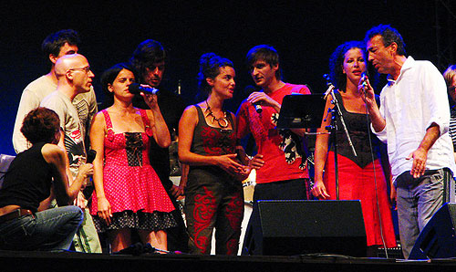 Hubert von Goisern and Band with Tamara Obrovac