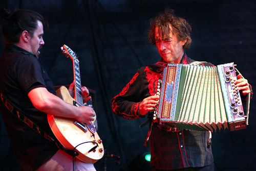 Hubert von Goisern and Severin Trogbacher