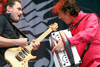 Severin Trogbacher and Hubert von Goisern